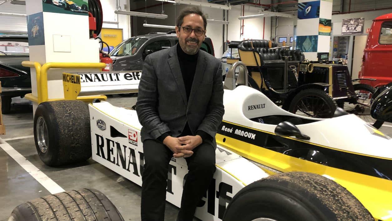 Hugues Portron, directeur de Renault Classic.