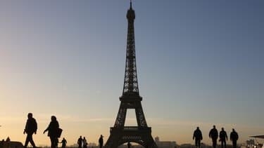 La tour Eiffel, à Paris. (Photo d'illustration)