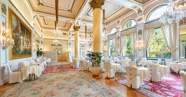 Une salle à manger de Merano