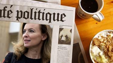 La compagne de François Hollande Valérie Trierweiler