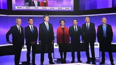 Troisième débat de la primaire de la gauche.