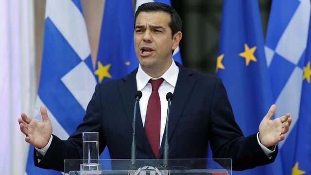 Le Premier ministre grec, Alexis Tsipras, a annoncé lundi une augmentation de 11% du salaire minimum.
