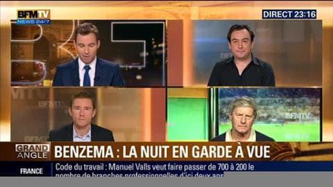 """Sextape"" de Valbuena: Karim Benzema passe la nuit en garde à vue"