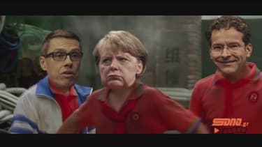 Les négociations entre Européens sur l'aide à la Grèce assimilée à un combat de karaté par un site média grec.