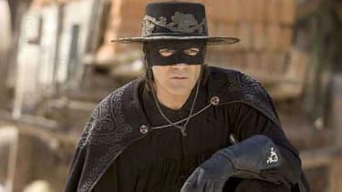 """Antonio Banderas a incarné le justicier masqué dans """"La légende de Zorro"""" en 2007."""