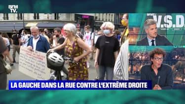 La gauche dans la rue contre l'exttrême droite - 12/06
