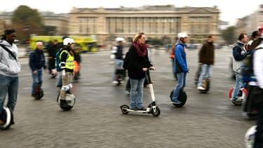 Les nouveaux engins de déplacement personnel posent de nombreuses questions en termes de sécurité routière et de l'espace public.