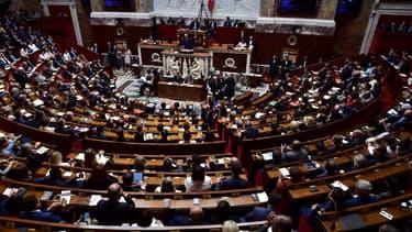 Le Premier ministre Edouard Philippe lors de son discours de politique générale devant l'Assemblée nationale le 04 juillet 2017 (image d'illustration)