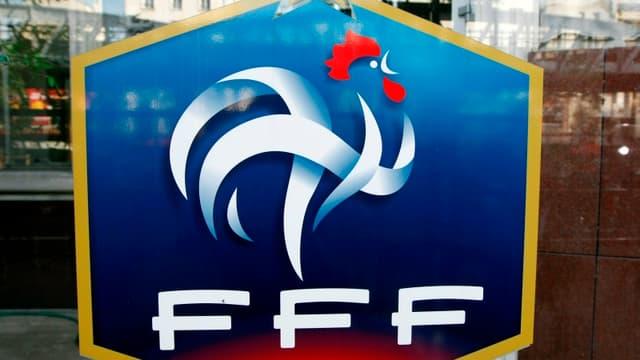 Le logo de la FFF.