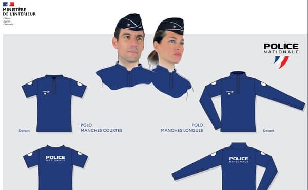 La nouvelle tenue des policiers