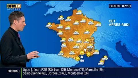 La météo pour ce dimanche 24 mai 2015