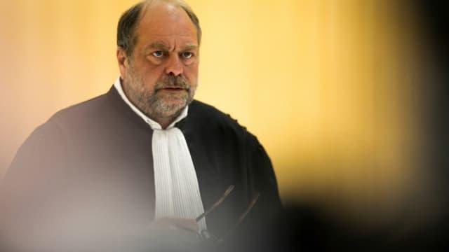Eric Dupond-Moretti au tribunal de Paris, le 13 mai 2019
