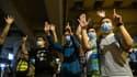 Des manifestants à Hong Kong dimanche 24 mai.