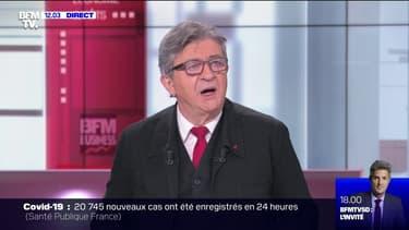 """Jean-Luc Mélenchon sur la sécurité: """"La tension est extrême, il faudrait faire redescendre tout ça en changeant les méthodes de travail et de commandement"""""""