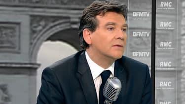 Arnaud Montebourg, le ministre du Redressement productif, invité de BFMTV ce 26 février