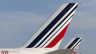 Des avions de la compagnie Air France - Image d'illustration