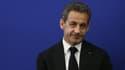 Nicolas Sarkozy à Nice, le 10 mars 2014.