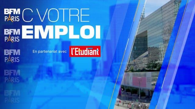 """""""L'ETUDIANT"""" PARTENAIRE DE LA CHRONIQUE """"C VOTRE EMPLOI"""" SUR BFM PARIS"""