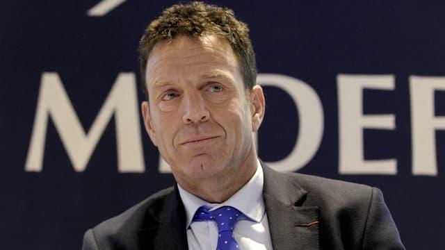 """""""Le gouvernement envisage de laisser au contribuable la possibilité de modifier son taux tous les mois, ce qui n'existe, à notre connaissance, dans aucun autre pays"""" déplore Geoffroy Roux de Bézieux, le vice-président du Medef en charge des questions économiques."""