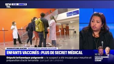 """Vaccination des enfants: Nageate Belahcen (FCPE) déplore """"la levée du secret médical à des tiers"""""""