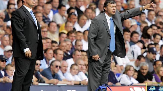 Rafael Benitez et Jacques Santini