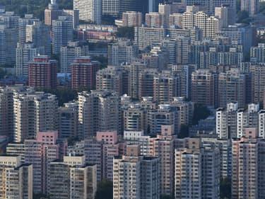 Plusieurs promoteurs immobiliers chinois sont incapables de rembourser leurs dettes