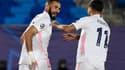 Karim Benzema, buteur avec le Real