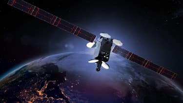 Un satellite d'Intelsat