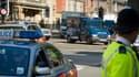 La police de Londres (illustration)