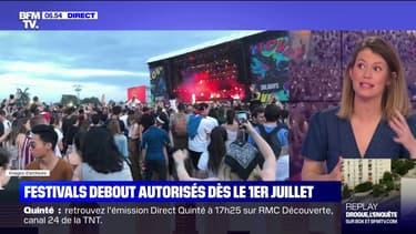 Roselyne Bachelot confirme le maintien des festivals debout dès le 1er juillet mais sous certaines conditions