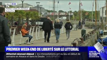 Premier Week-end de liberté sur le littoral