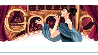 La cantatrice Maria Callas est née le 2 décembre 1923