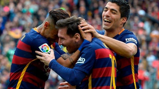 Neymar, Messi et Suarez