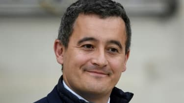 Le Ministre de l'Action et des Comptes publics Gérald Darmanin