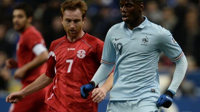Paul Pogba n'a pas loupé ses débuts en Bleu