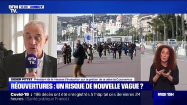 """Pr Didier Pittet: """"Aujourd'hui, lorsqu'on diagnostique un nouveau cas en France, probablement qu'il y en a un autre qui ne l'est pas, avant c'était probablement 5 ou 6 qui ne l'étaient pas."""""""