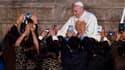 Le pape François a plaidé pour la protection de l'environnement lors d'une visite en Equateur.