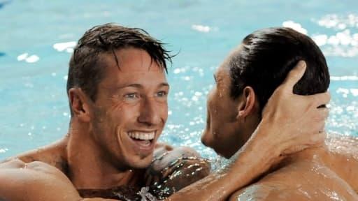 Florent Manaudou et Frédérick Bousquet se sont qualifiés pour la finale du 50 m nage libre