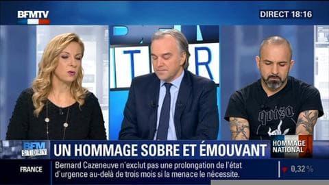 """Hommage national aux Invalides: """"Quand on voit défiler tous ces visages, forcément ça fait mal"""", Cédric Rizzo"""