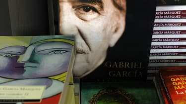 Le romancier Gabriel Garcia Marquez.