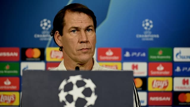 Rudi Garcia en conférence de presse