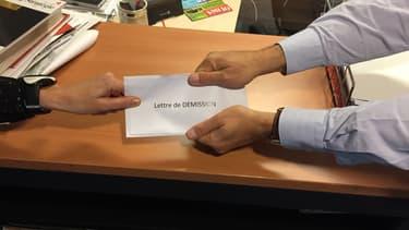 Quand on reçoit une lettre de démission de son meilleur élément, rien ne sert de s'énerver.