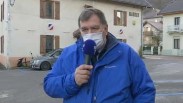 François Daviet, maire de La Balme de Sillingy (Haute-Savoie), le 28 février 2020.
