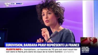Barbara Pravi, la voix française de l'Eurovision, témoigne de son aventure sur BFMTV