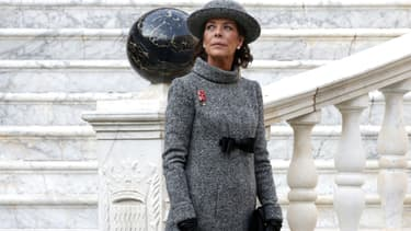 Caroline de Monaco en novembre 2017