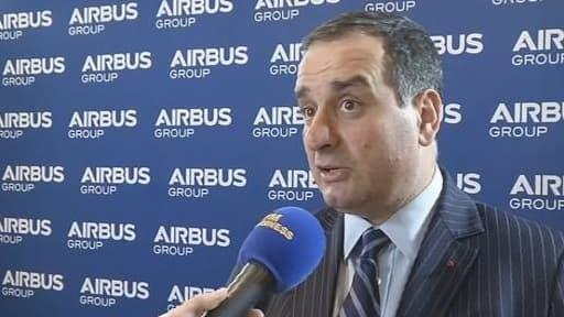 Marwan Lahoud s'est notamment félicité du pilotage du développement de l'A350.