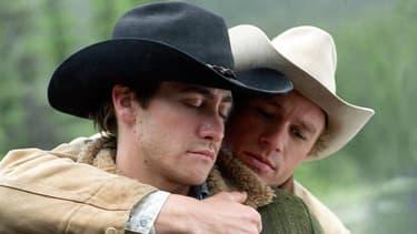 Jake Gyllenhaal et Heath Ledgher dans Le Secret de Brokeback Mountain