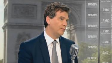 Arnaud Montebourg, le ministre de l'Economie, était l'invité de BFMTV ce 23 juin