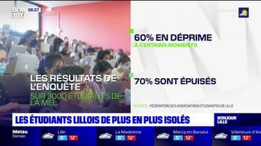 Reconfinement: 15% des étudiants de Lille se sentent isolés socialement, selon une étude