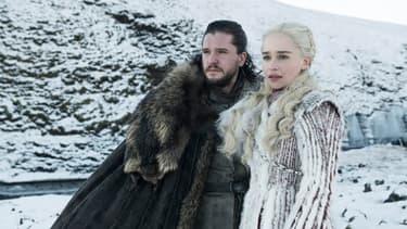 Une image extraite de la saison 8 de Game of Thrones.